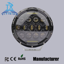 "Shenzhen Vitision manufacturer 75w 7"" led headlamps highest lumens brightness with CE FCC ROHS certificate"