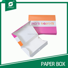 FULL-COLOR OFFSET PRINTING DONUT/BAKERY PACAKGING BOX DELIVERY BOX