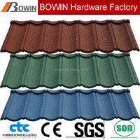 copper colored metal roof /terracotta roof tiles /glazed roof tiles