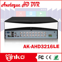 Anko 2015 Best Sellers High Quality 16 Channel OEM H264 DVR Client 3 In 1 P2P HDMI VGA