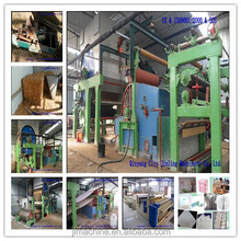 1575 type Modernized Jumbo Tissue Toilet Paper Roll making Machine with ISO and SGS sold to Suriname in 2008