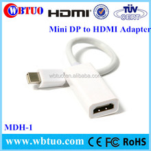 New product 1.2 Mini displayport dp to 1.4 hdmi converter