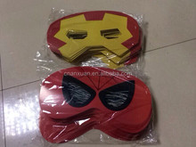 iron man facepiece mask with custom design