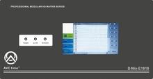 S-mix 18x18 matrix switcher supports CVBS,YPbPr,VGA,HDMI,DVI,3GSDI+ AUDIO,3GSD, 4K