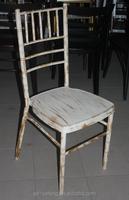 2015 Hot Sale Wedinig lime wash Chiavari chair