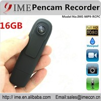 New arrival full HD 1080P built-in 16gb pen camera with video and audio recording, photo taking
