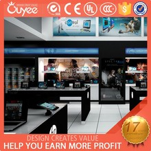 2015 hot selling retail cell phone shop decoration,mobile phone shop design