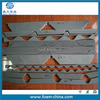 colorful chip coated roof steel tile foam cover foam cover