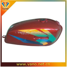 Long performance Stainless Steel red RX100 scooter gas tank motorcycle