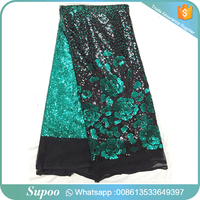 New fashion latest design tulle lace french net lace fabric