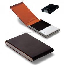 Leather Business Card Holder Gift Set/ PU Leather Card Holder Wallets