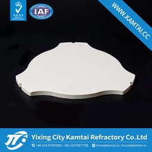 China quality cordierite ceramic plate for pizza