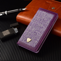 Mix Leather PU & Cloth Material Phone Case, Case For iphone 6 Wallet Style Case ,For iphone 6 Mobile Phone Case Leather