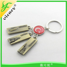 promotion turkey style metal keychain tourist