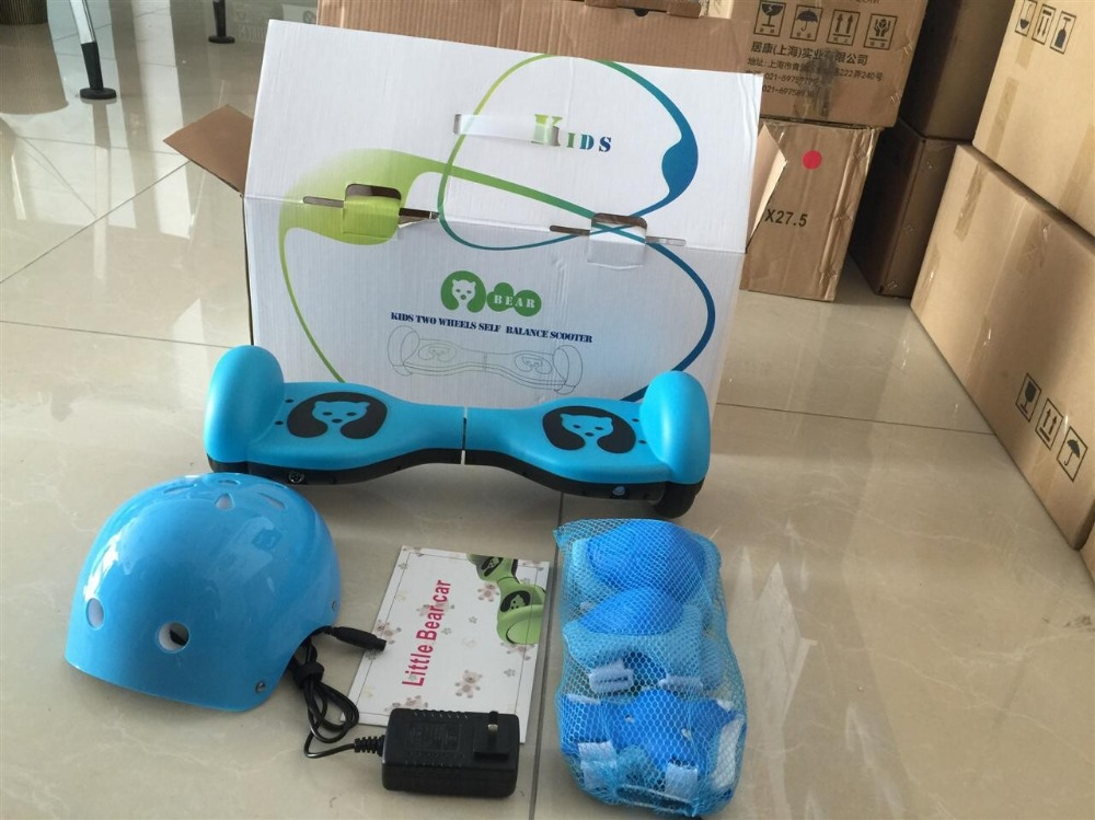 5 inch Bear mini electric balance scooter hover board for kids