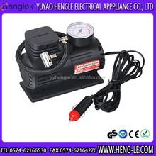 DC12V air compressor car air compressor air pump with gauge