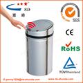 negro papel de desecho bin de papel reciclado bin cubo de basura de plástico contenedor
