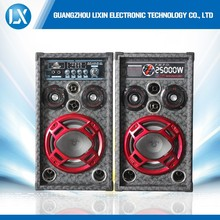 Professional hi-fi-floor stage speaker woofer with flashing lights