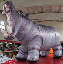 Newest PARADE inflatable/Giant inflatable hippo 5m tall /inflatable animal