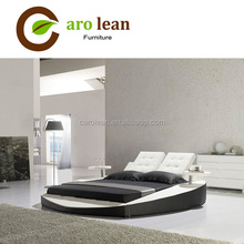 queen size leather round bed on sale C307