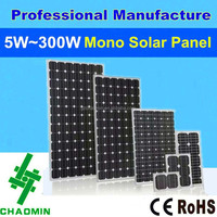 Mono Poly price per watt solar panel 5w~300w