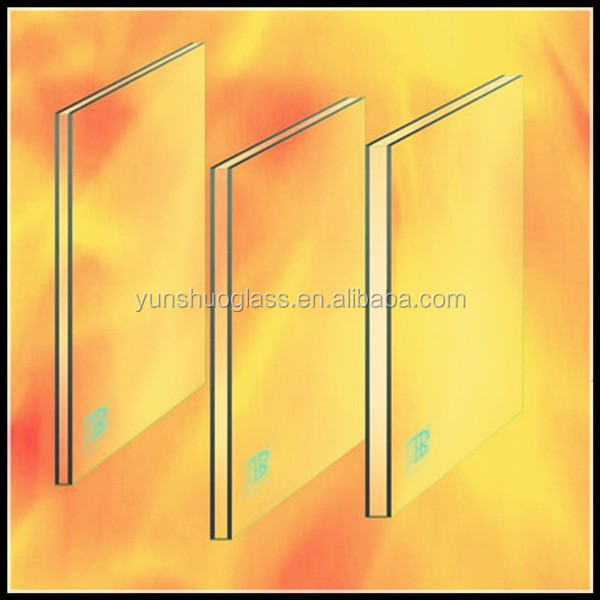 Cheap 2hour 3hour fire rated glass fire resistant glass for 1 hour fire rated glass door