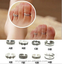 vintage toe ring, cheap toe ring indian(SWTJU699)