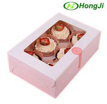 Custom Packing Bento Food Cupcake Chocolate Paper Cake Box