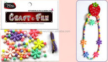 beaded necklace easy crafts