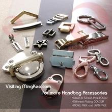 Custom logo high quality metal accessories for crystal clutch