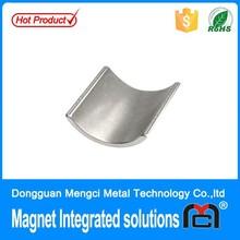 high quality rare earth neodymium arc motor magnets sale