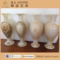 Onyx sculpture white onyx vase antique onyx marble vase statue