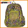 Wholesale kids bag floral print backpack