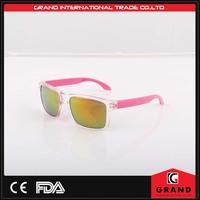 2015 New Design Sunglasses True Color Sunglasses Rubber tips