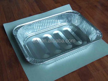 Oval Roasting Aluminium Foil food containers/Tray for USA Market