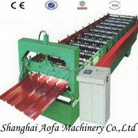 Galvanized steel ridge cap making machinery