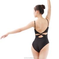 Gymnastics Sexy Twist Back Camisole Leotard (WG06066)