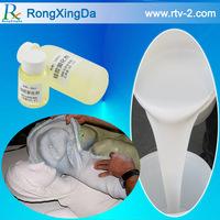 RTV-2 silicone rubber for plaster casting cornice mold