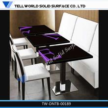 tw de suministro de piedra de mármol de comedor comerciales bases de mesa