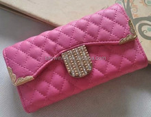 2015 high quality fashion wholesale mobile phone pu case for Samsung Galaxy