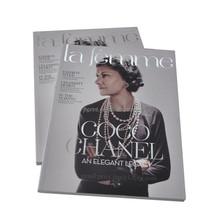 Professional fashion magazine printing/ cloth/jewel magazine printing