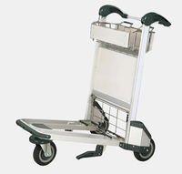 Durable used luggage cart wheels,metal luggage cart,baggage trolley