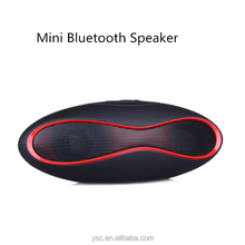 HIFI X-6 MINI Sound Rugby Football Wireless Bluetooth Speaker AUX USB Portable Audio Player Music for phone Computer Subwoofer