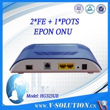 2FE+1FXS Home Gateway FTTH EPON ONU Fiber Optic Router in Hot Sale!!!