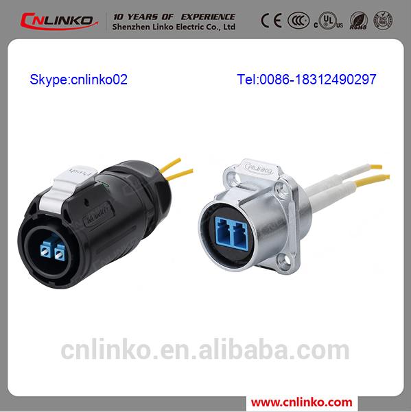 Yeni tasarım fiber optik konnektör ıp68 IP67 simpleks endüstriyel açık anti- Patlamaya su geçirmez lc fiber optik/konnektör