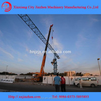 used TC6015 mobile crane tower used 8ton railway mounted travelling tower crane for sale