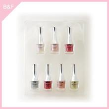 Private label makeup Nail Polish real nail polish sticker glitter design china alibaba one step gel nail polish for sell