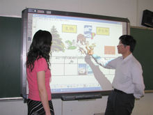 82'' WIFI Network Electronic Touch Whiteboard