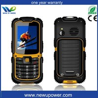 rugged outdoor cell phone waterproof ip68shockproof with sos