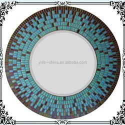 home decoration,mosaic mirror frame,mirror frame factory